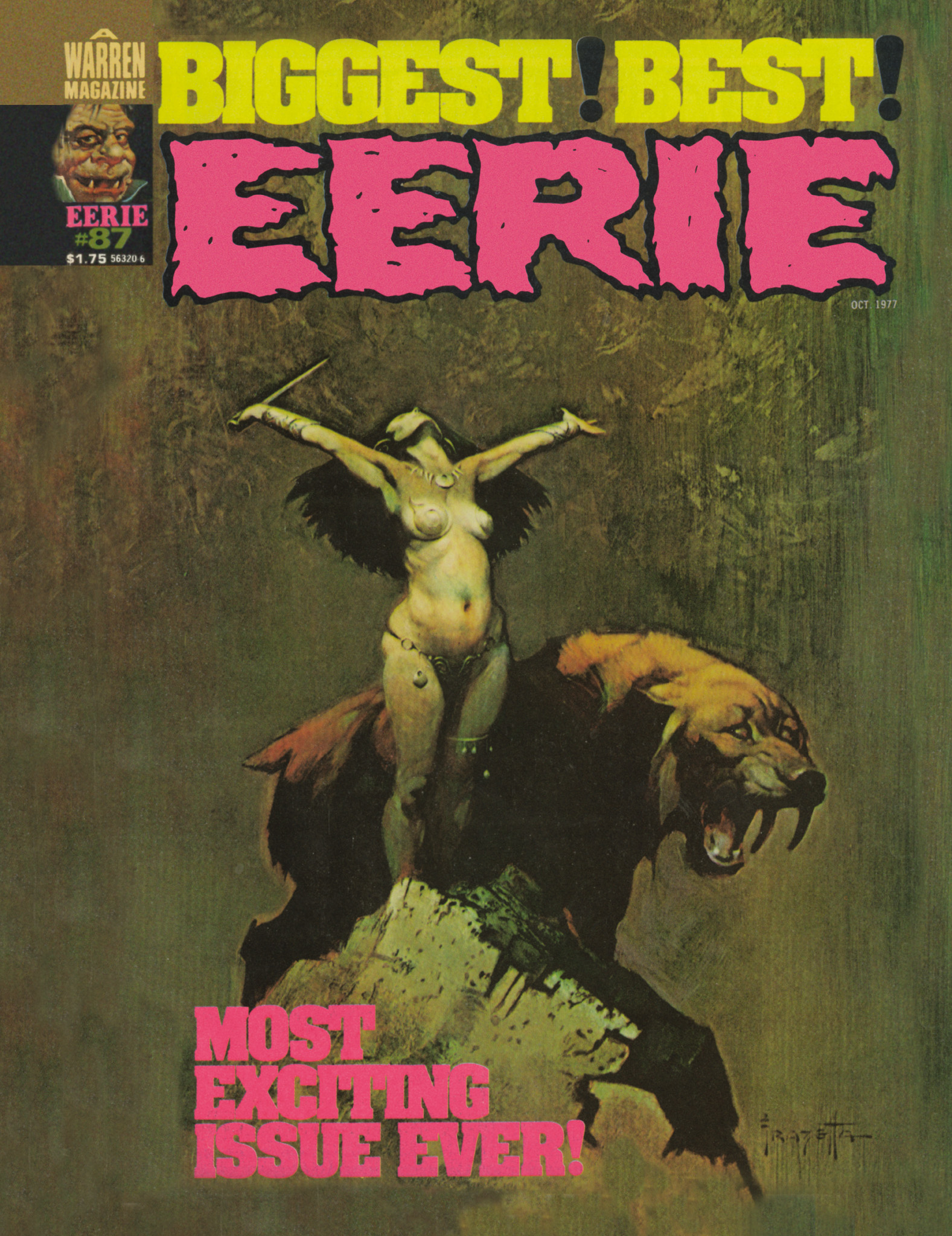 Read online Eerie Archives comic -  Issue # TPB 18 - 80