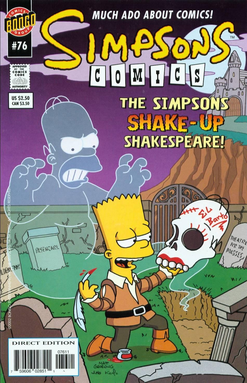 Read online Simpsons Comics comic -  Issue #76 - 1