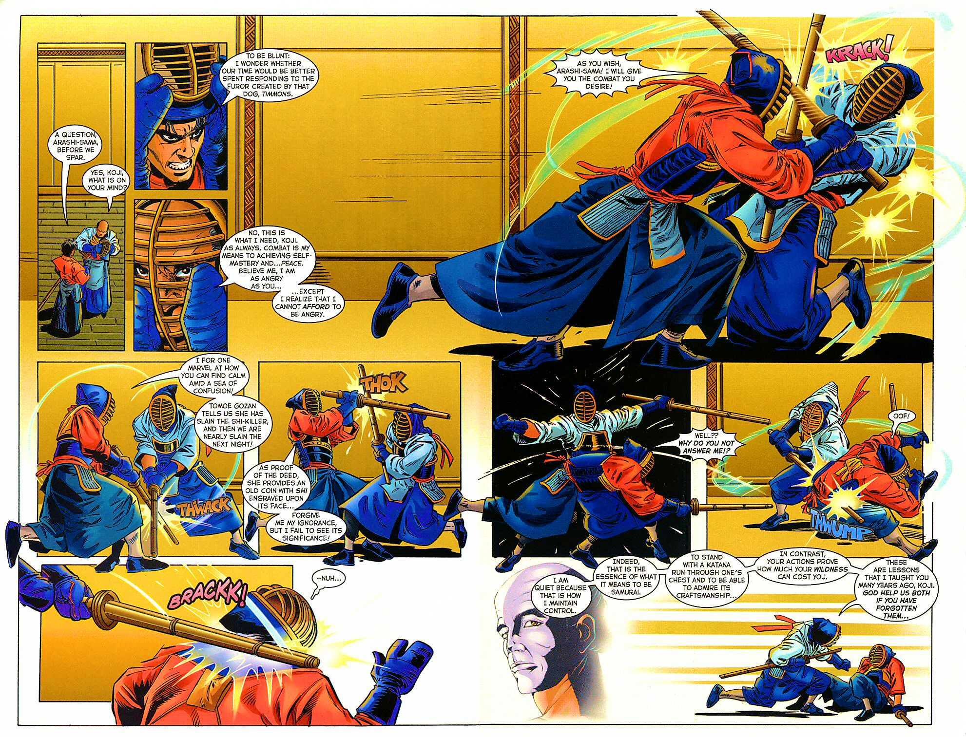 Read online Shi: The Way of the Warrior comic -  Issue #9 - 23