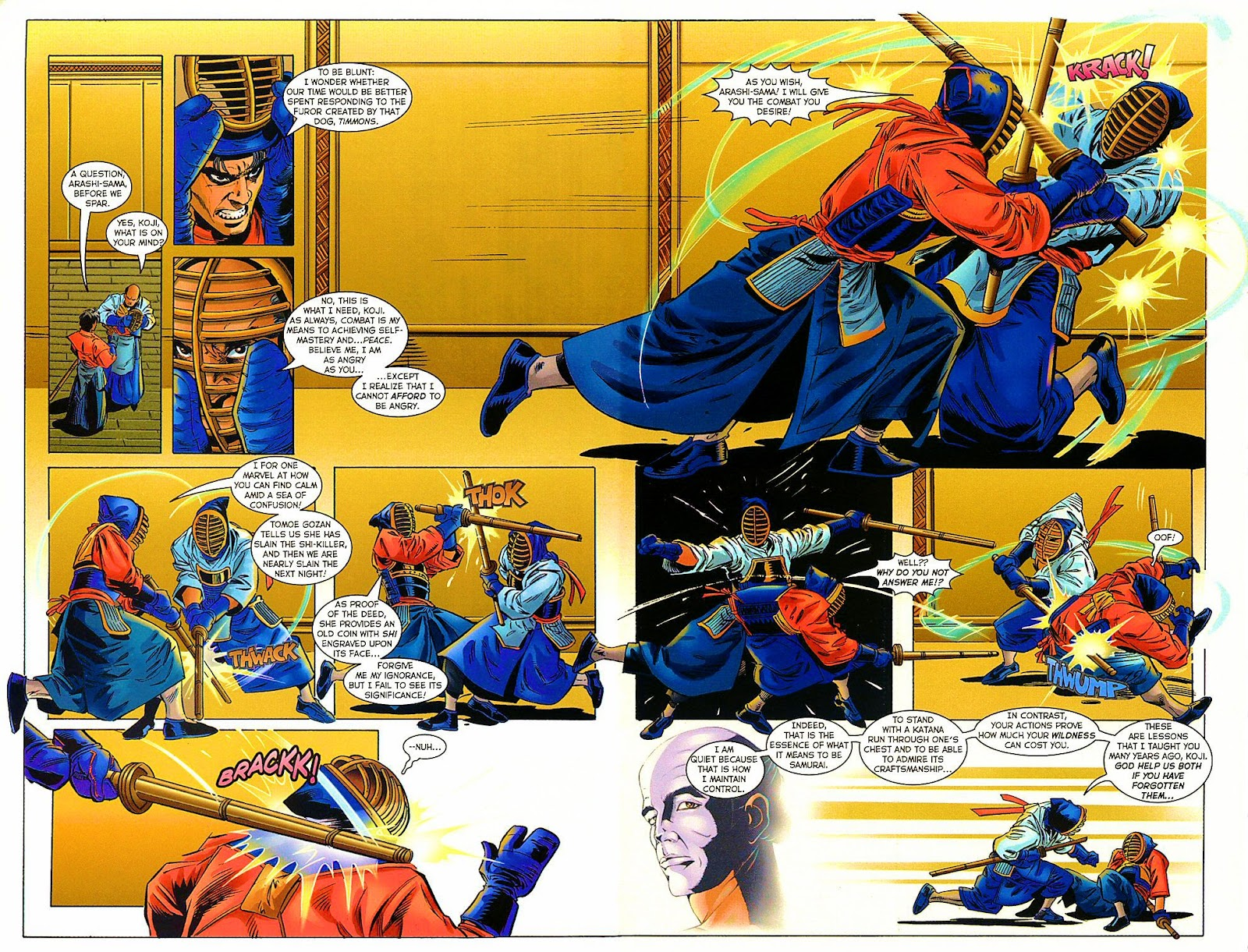 Shi: The Way of the Warrior Issue #9 #9 - English 23