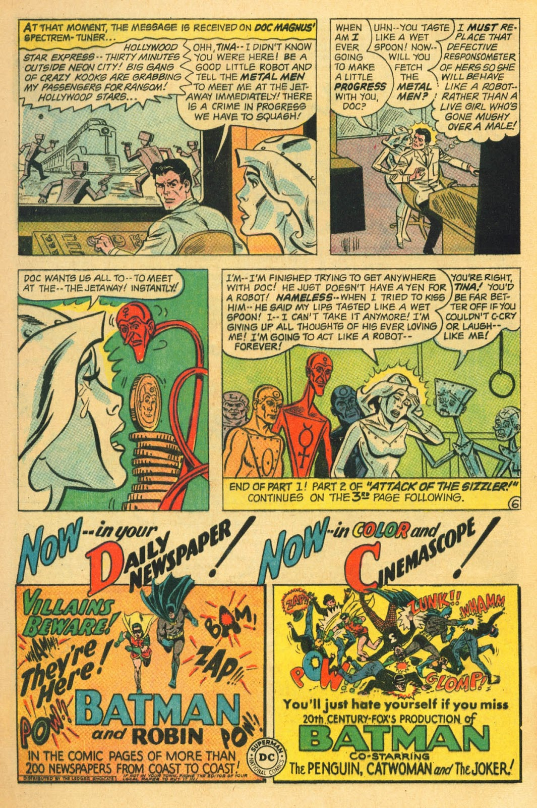 Metal Men (1963) issue 22 - Page 8