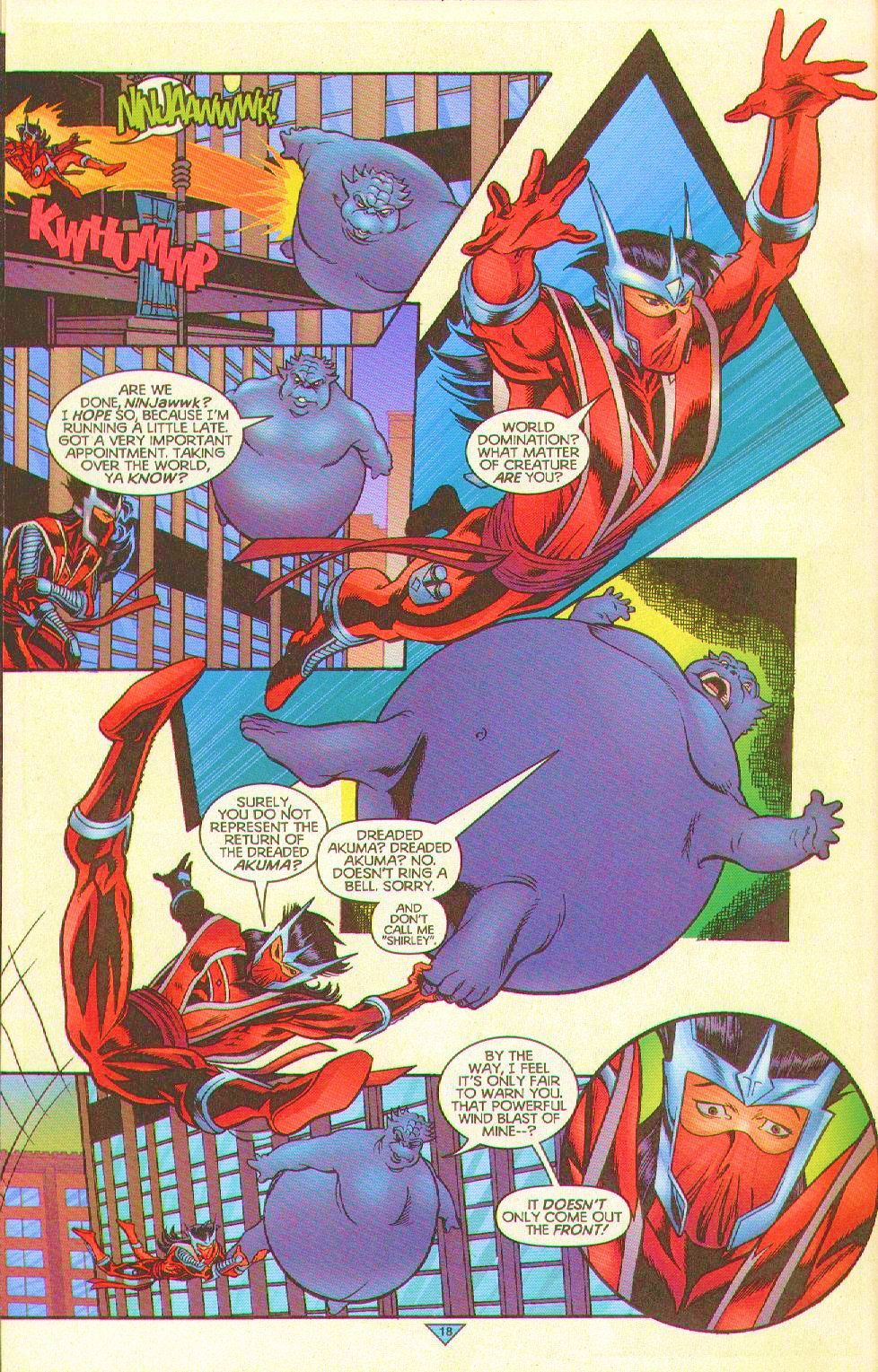 Read online Trinity Angels comic -  Issue #11 - 19