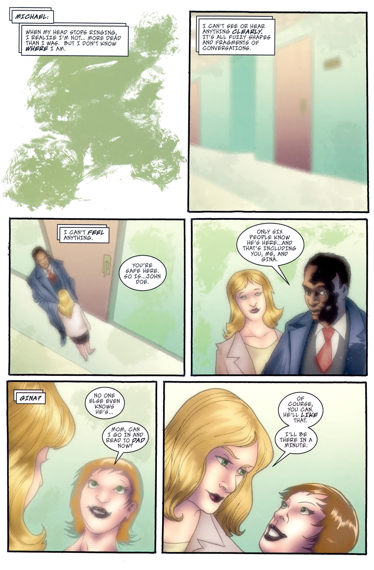 Read online The Grim Ghost comic -  Issue #5 - 23