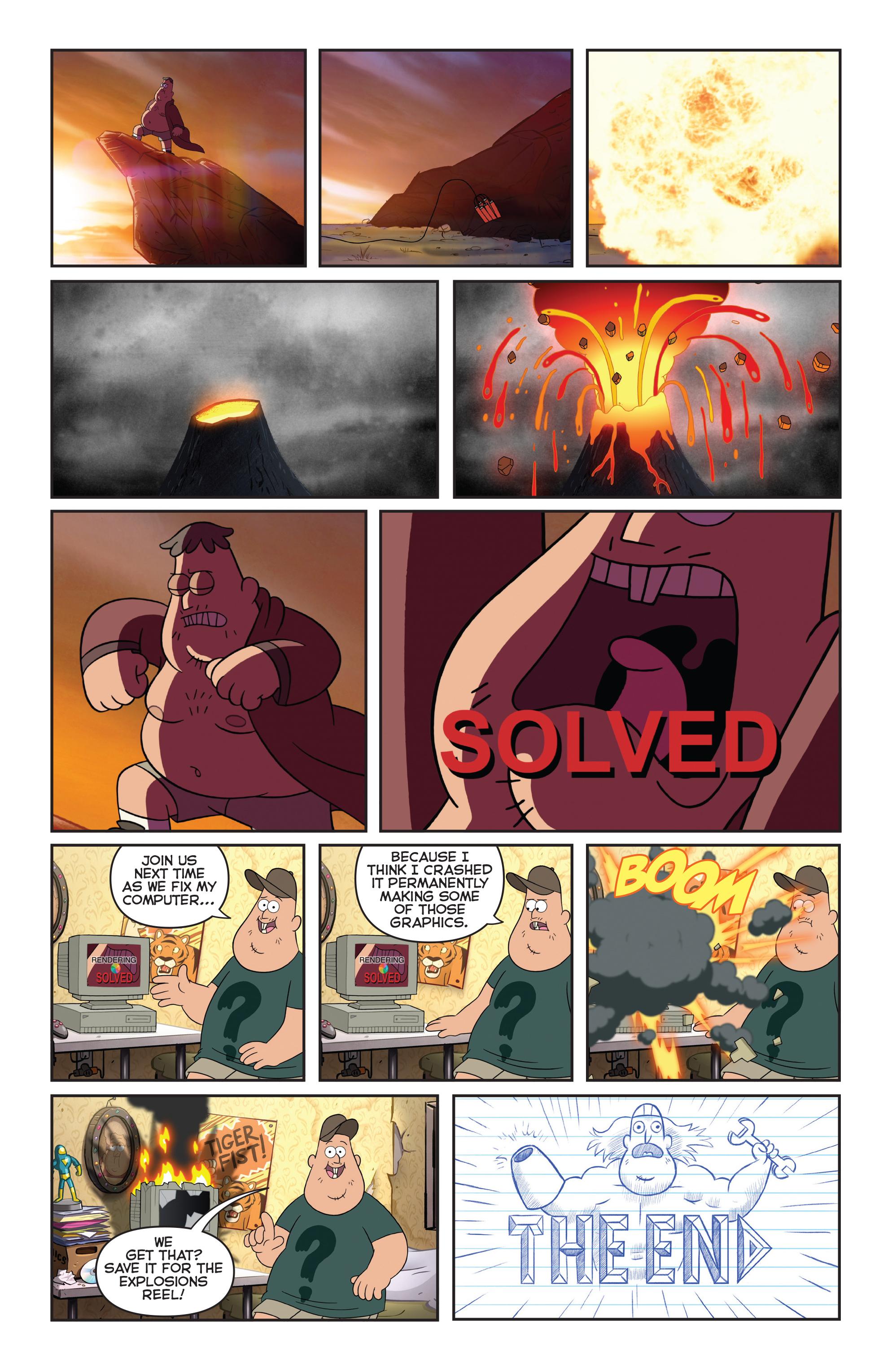 Read online Disney Gravity Falls Shorts Cinestory Comic comic -  Issue #1 - 29