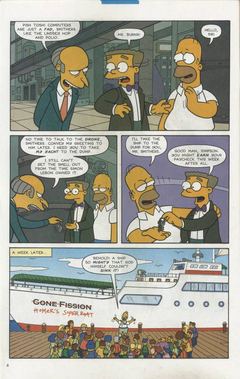 Read online Simpsons Comics comic -  Issue #66 - 7
