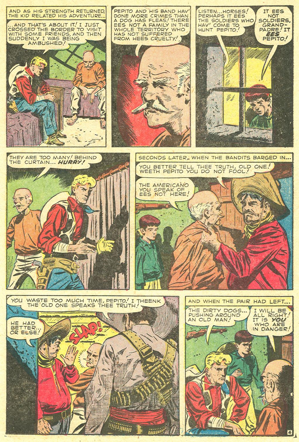 Read online Two-Gun Kid comic -  Issue #21 - 23