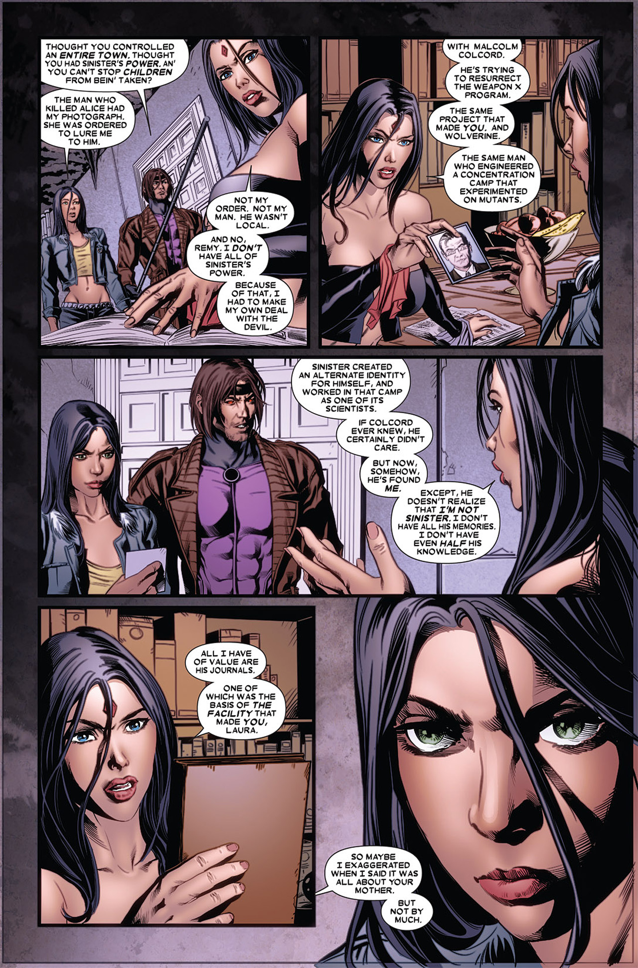 Read online X-23 (2010) comic -  Issue #5 - 9