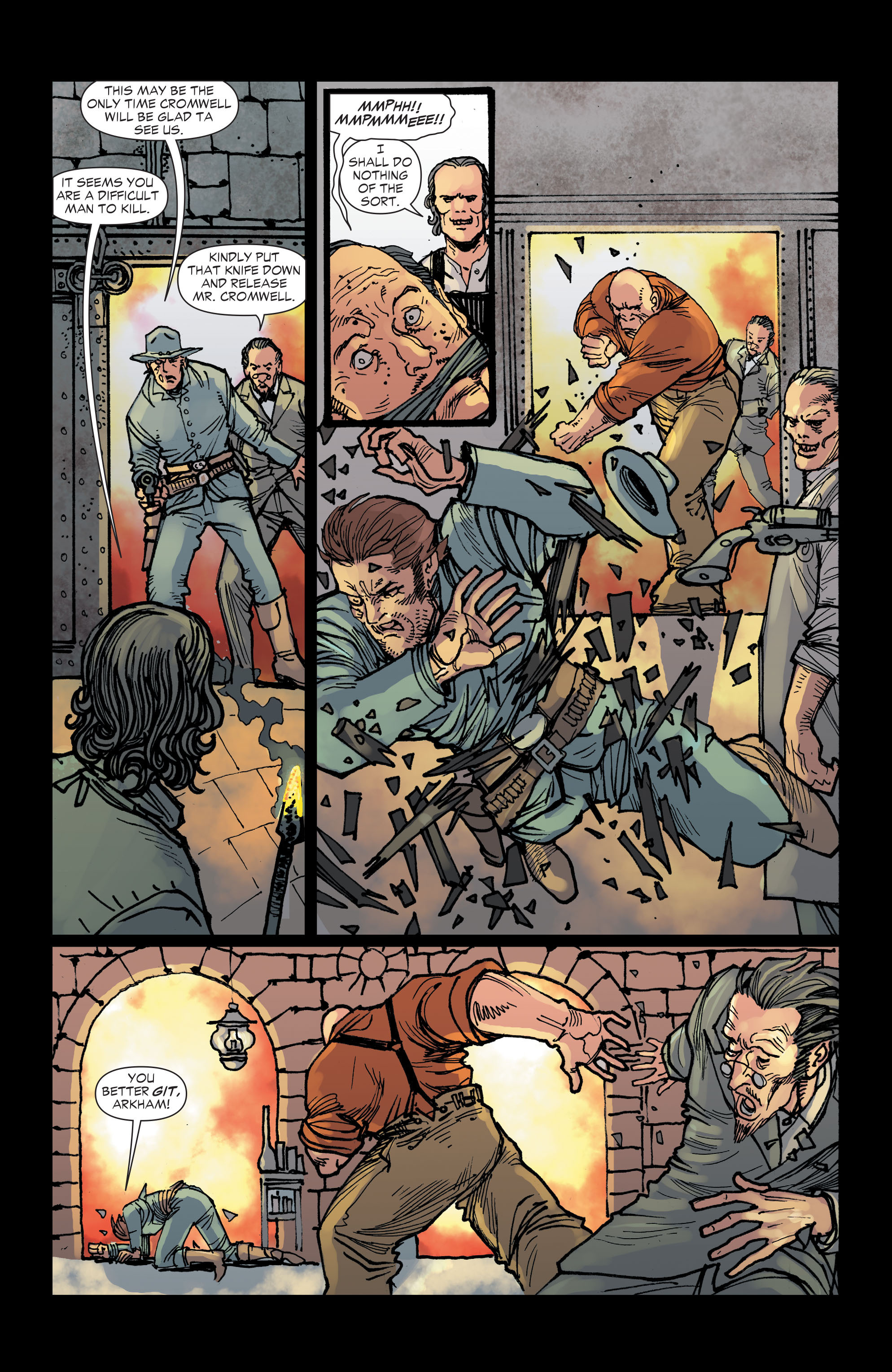 Read online All-Star Western (2011) comic -  Issue #2 - 18