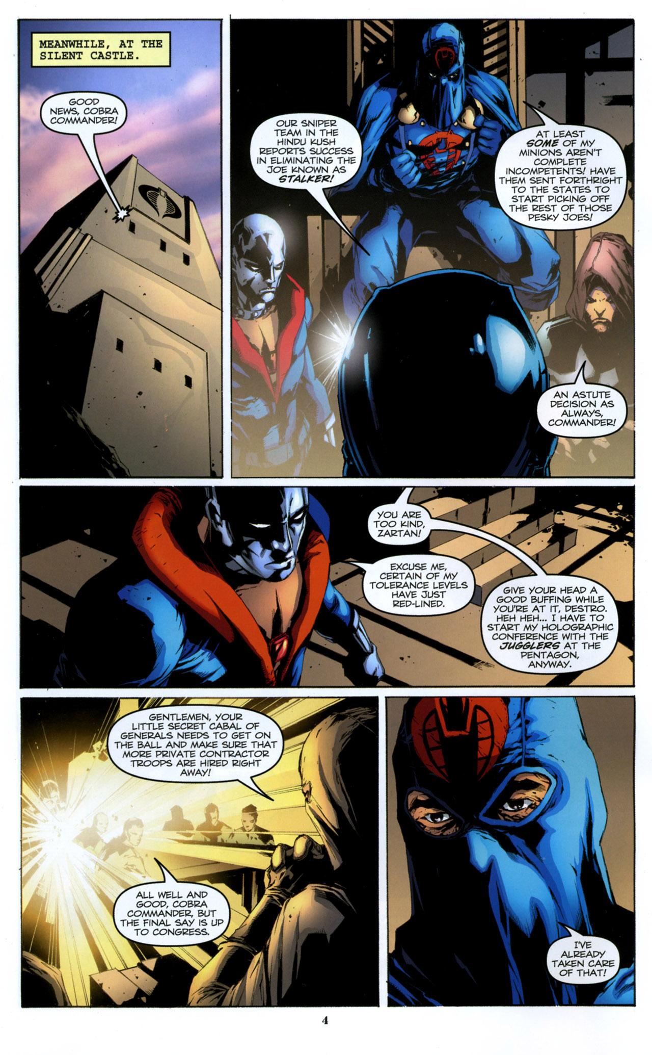 G.I. Joe: A Real American Hero 157 Page 5