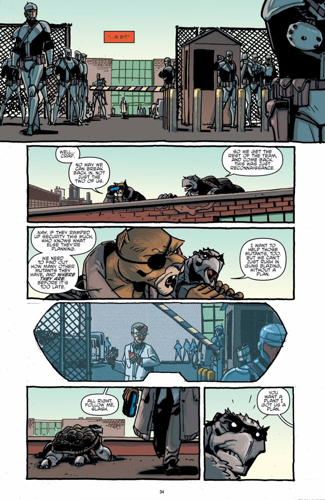 Read online Teenage Mutant Ninja Turtles: The IDW Collection comic -  Issue # TPB 6 (Part 1) - 33