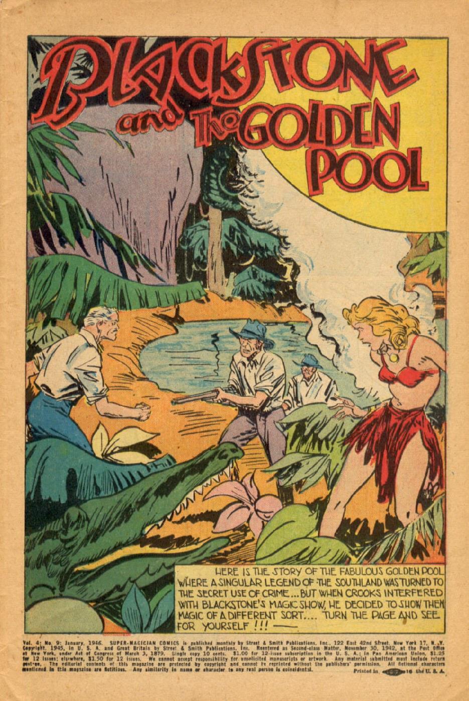 Read online Super-Magician Comics comic -  Issue #45 - 3