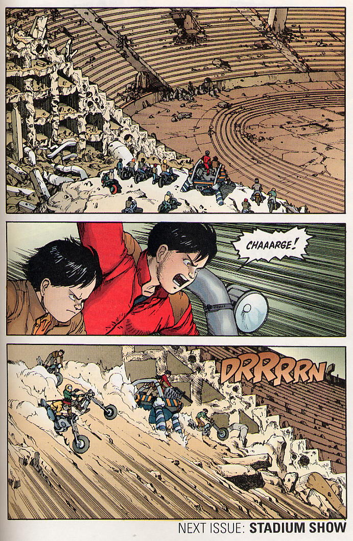 Read online Akira comic -  Issue #30 - 63
