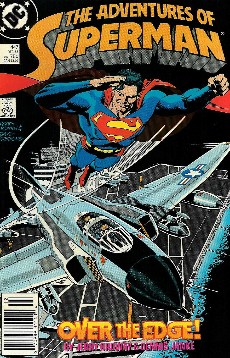 Read online Adventures of Superman (1987) comic -  Issue #447 - 1