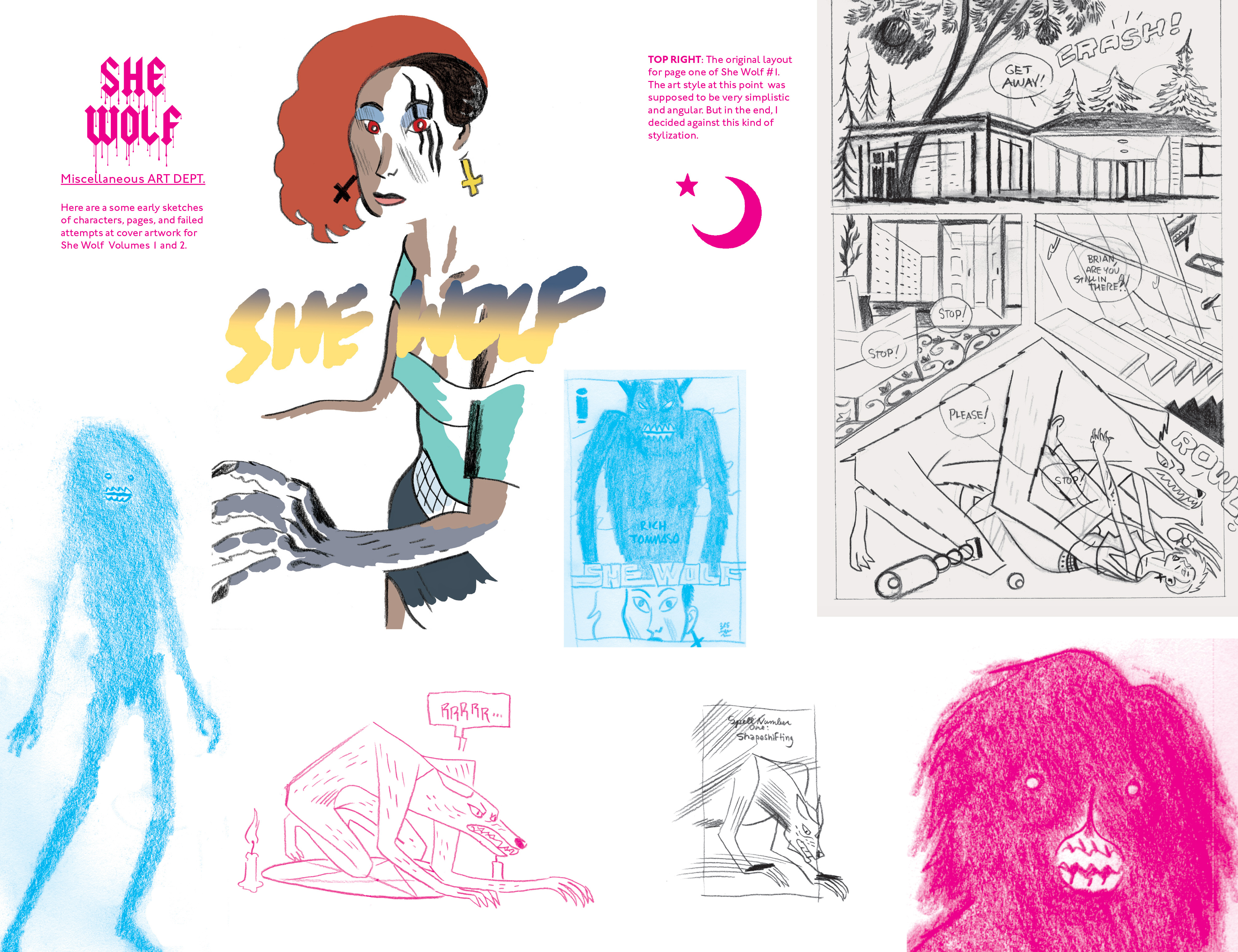Read online She Wolf comic -  Issue #7 - 21