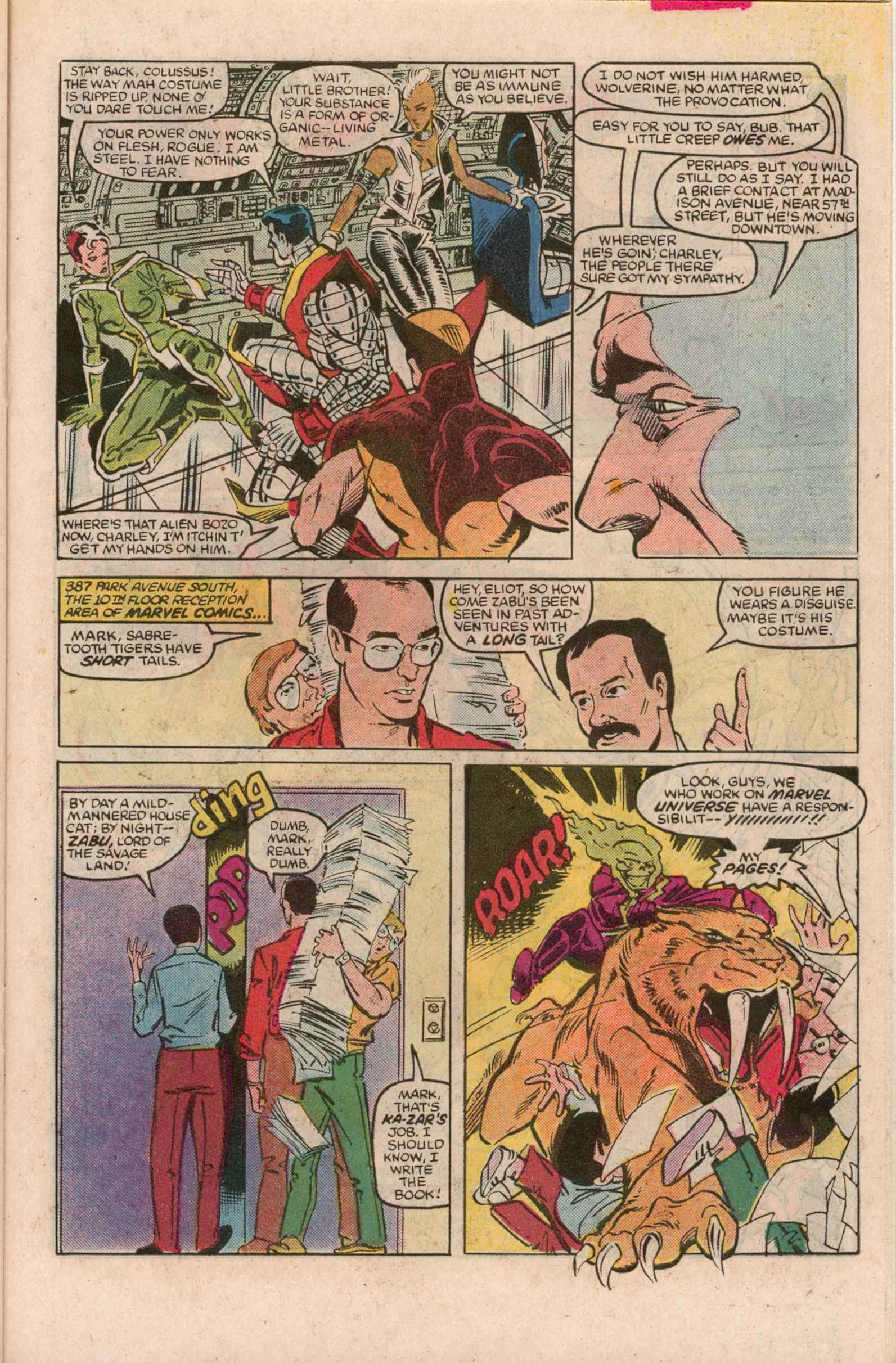Read online Uncanny X-Men (1963) comic -  Issue # _Annual 7 - 26