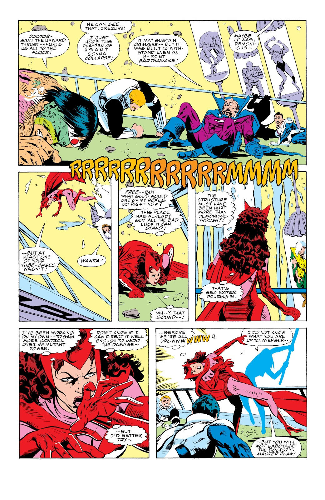 Avengers West Coast (1989) issue 73 - Page 22