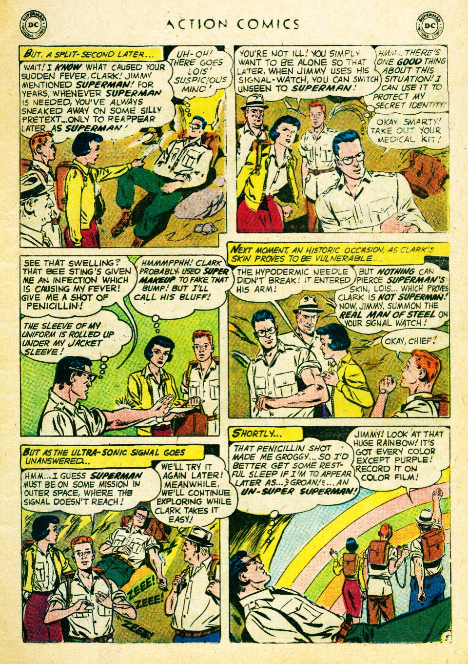 Read online Action Comics (1938) comic -  Issue #262 - 7