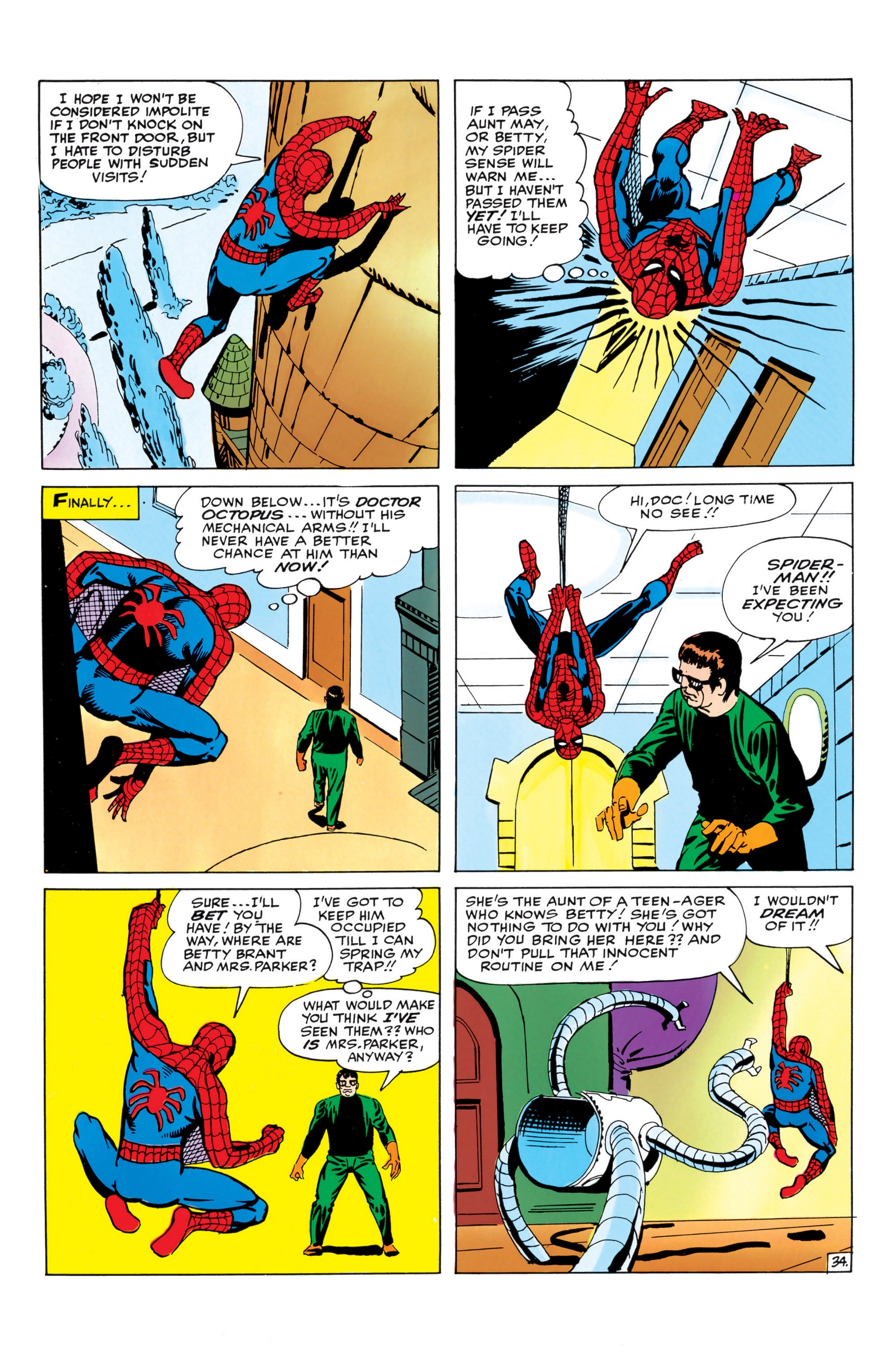 The Amazing Spider-Man (1963) _Annual_1 Page 34