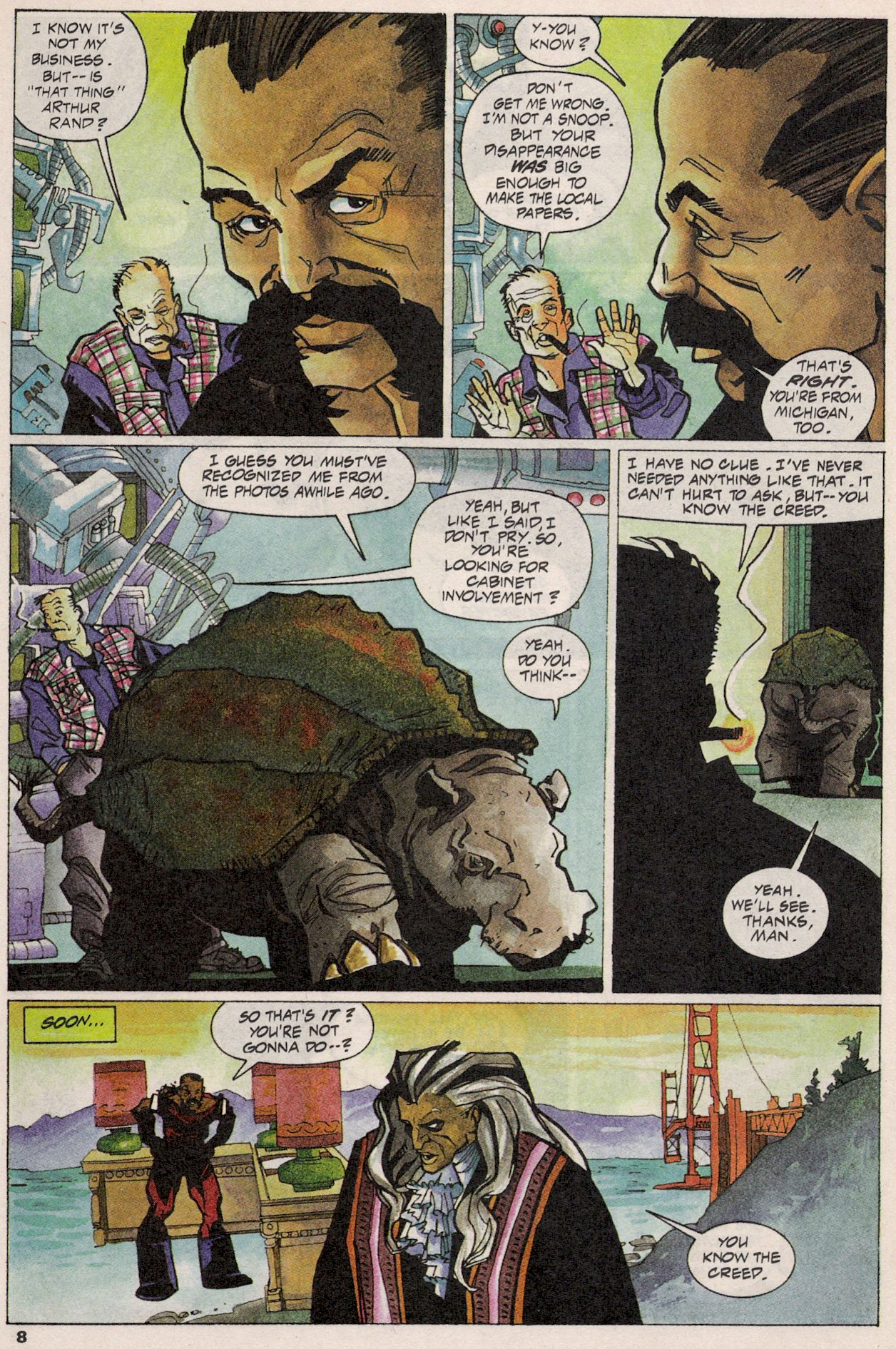 Read online Shadow Cabinet comic -  Issue #3 - 7