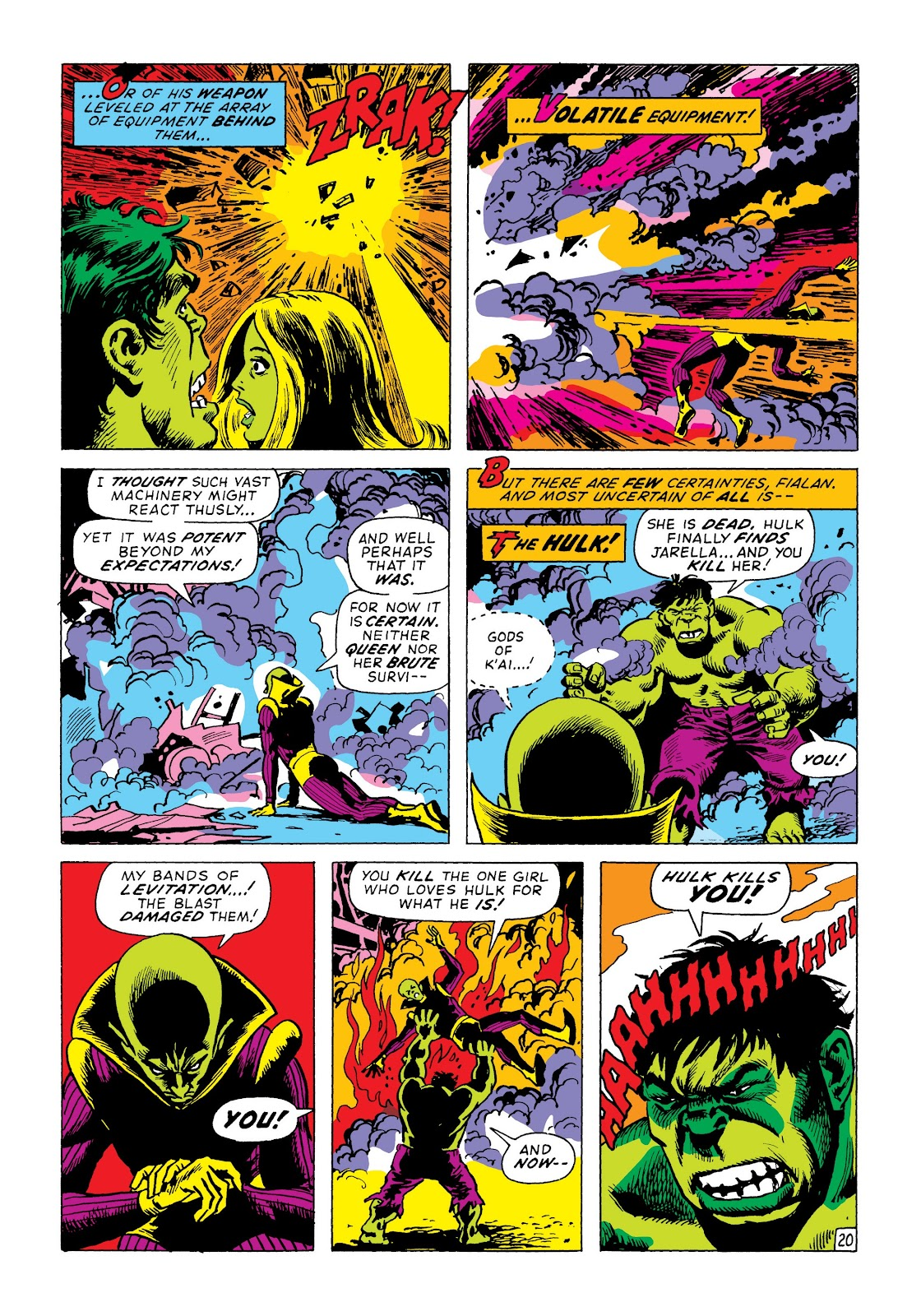 Read online Marvel Masterworks: The Incredible Hulk comic -  Issue # TPB 8 (Part 2) - 5