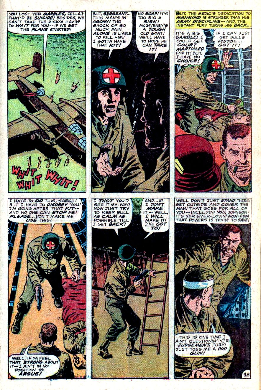 Read online Sgt. Fury comic -  Issue #46 - 21