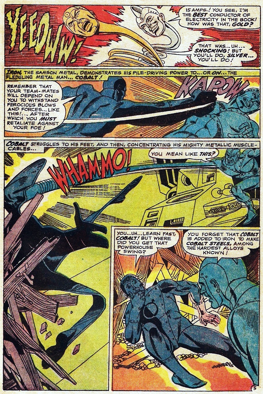 Metal Men (1963) issue 31 - Page 9