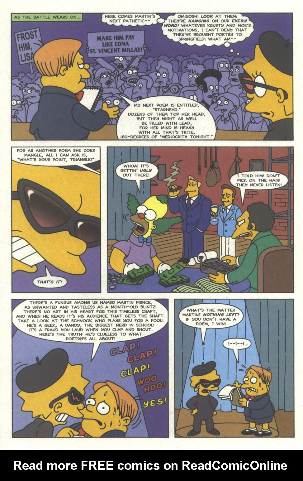 Read online Simpsons Comics comic -  Issue #32 - 21