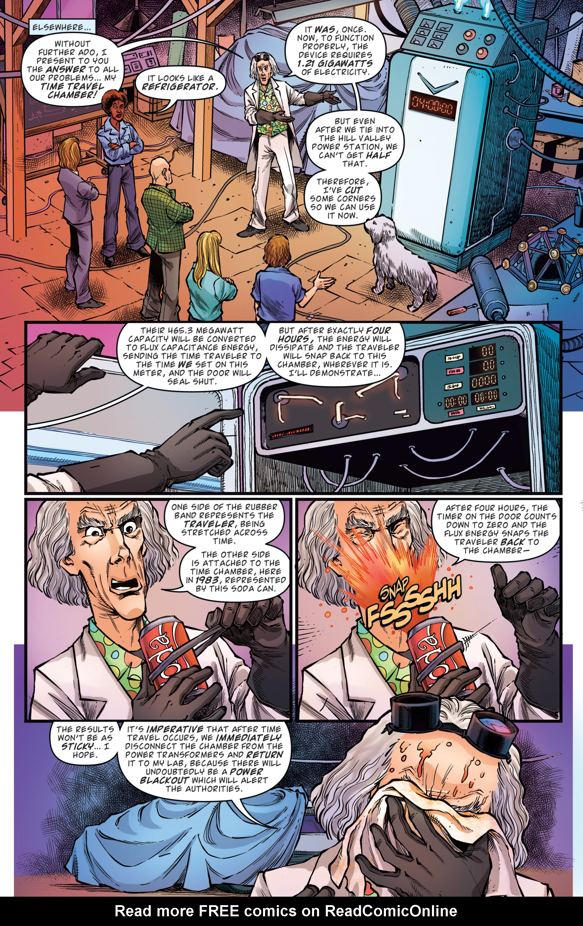 Read online Back to the Future: Biff to the Future comic -  Issue #5 - 5