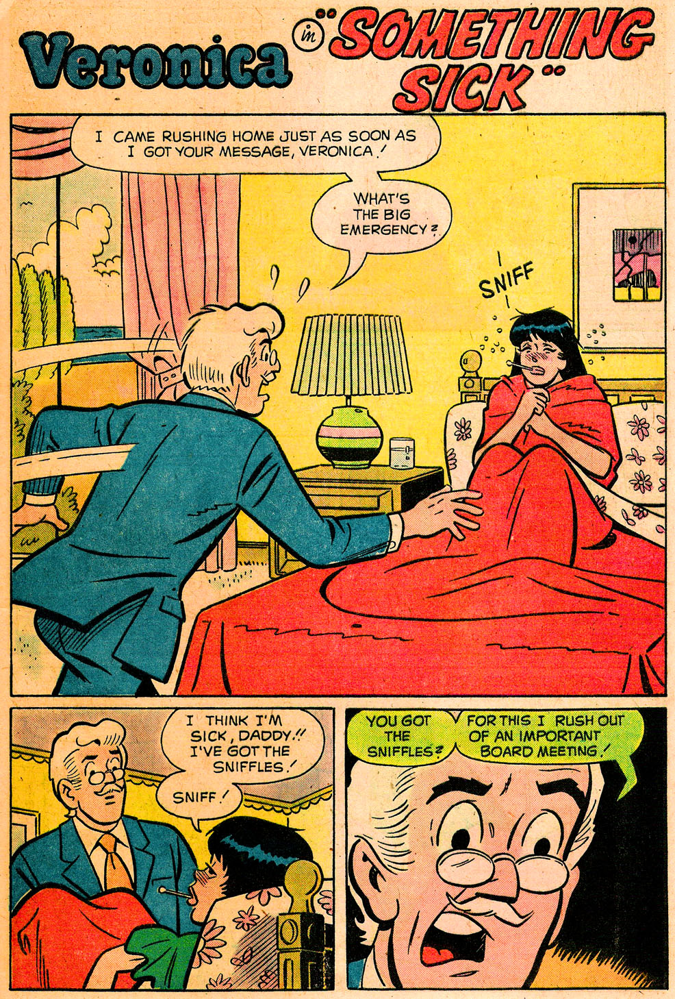 Read online Archie's Girls Betty and Veronica comic -  Issue #222 - 29