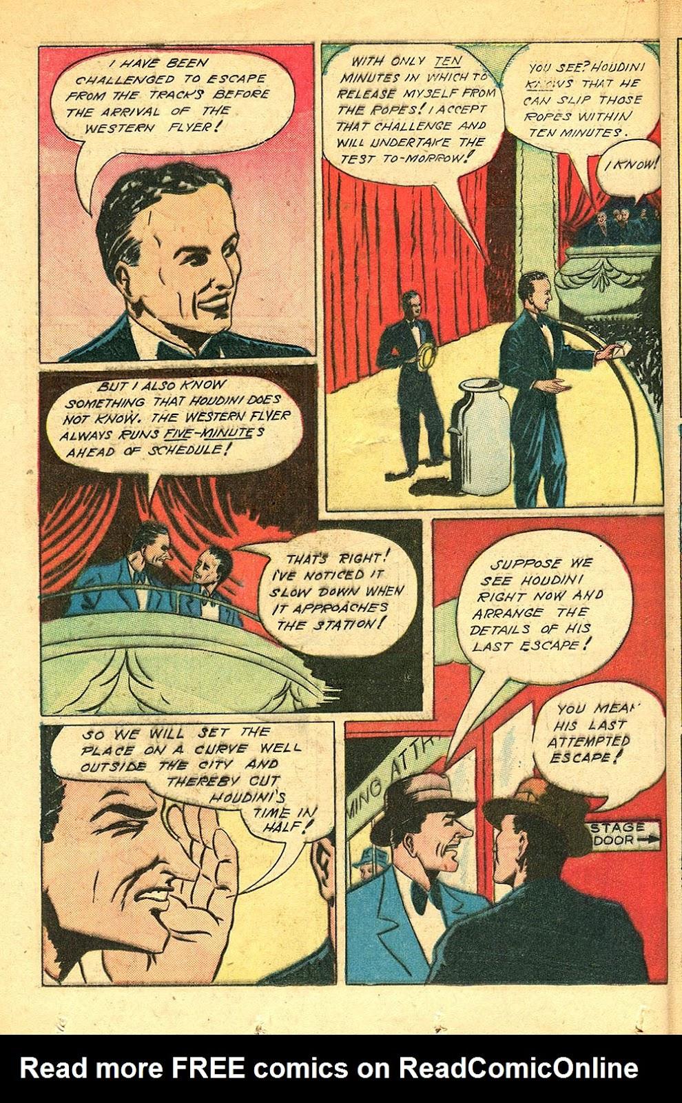 Read online Super-Magician Comics comic -  Issue #56 - 30