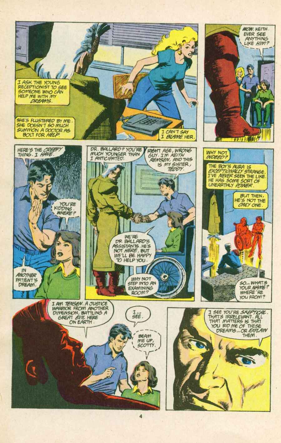 Read online Justice (1986) comic -  Issue #15 - 5