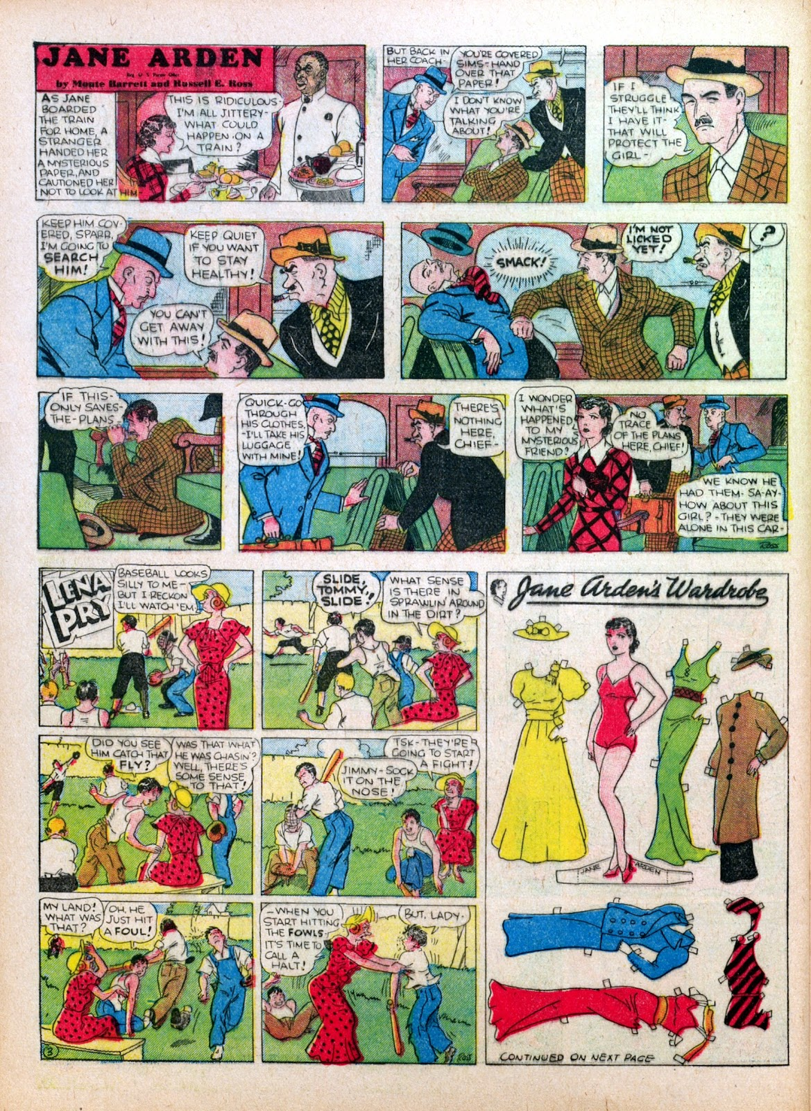 Read online Famous Funnies comic -  Issue #27 - 52