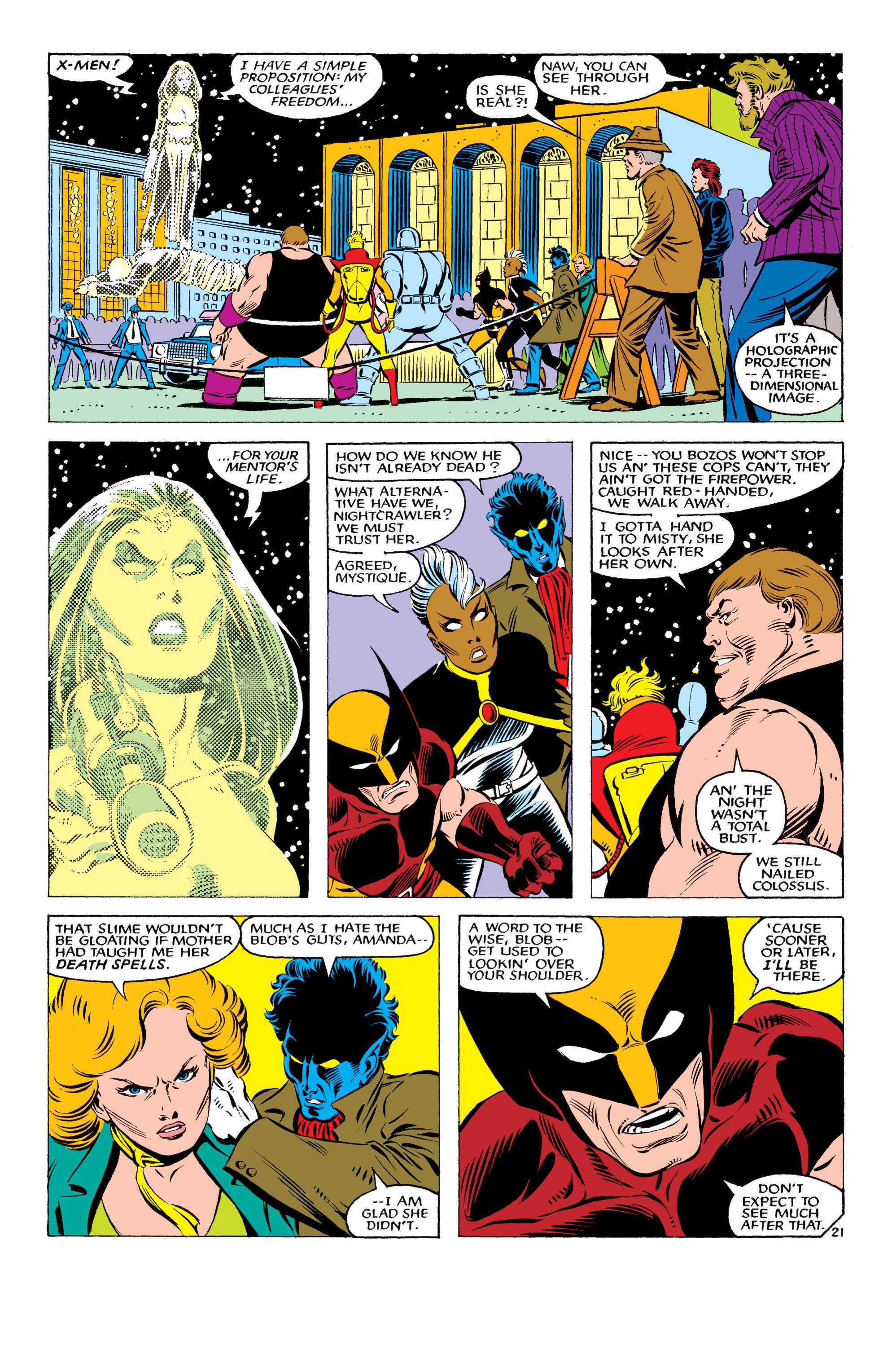 Read online Uncanny X-Men (1963) comic -  Issue #178 - 22