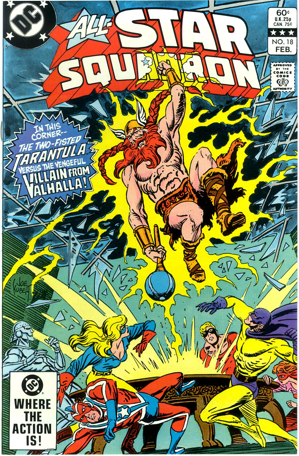 Read online All-Star Squadron comic -  Issue #18 - 1