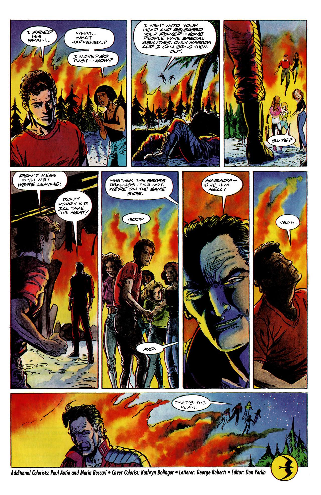 Read online Harbinger (1992) comic -  Issue #11 - 23
