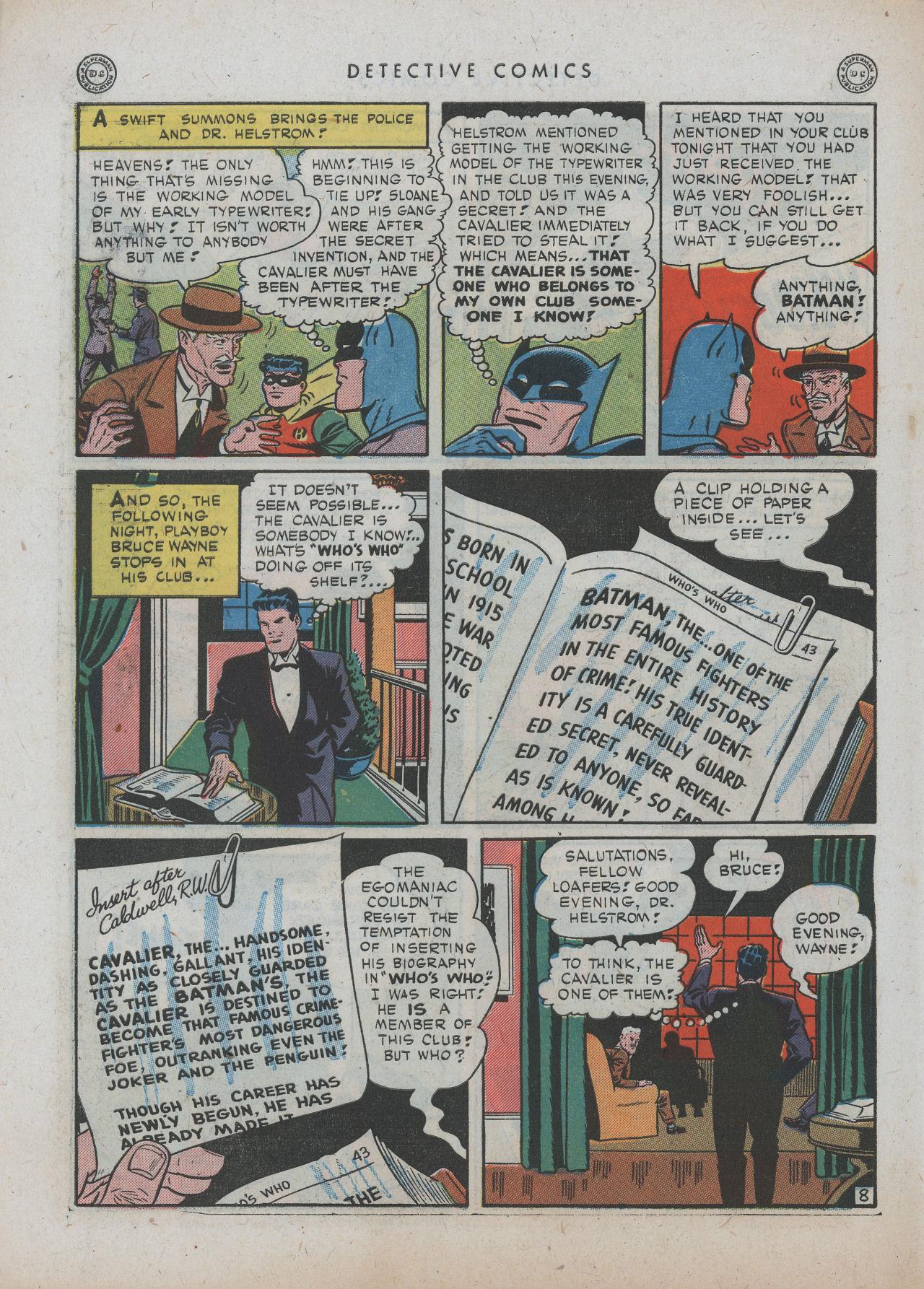 Read online Detective Comics (1937) comic -  Issue #89 - 10