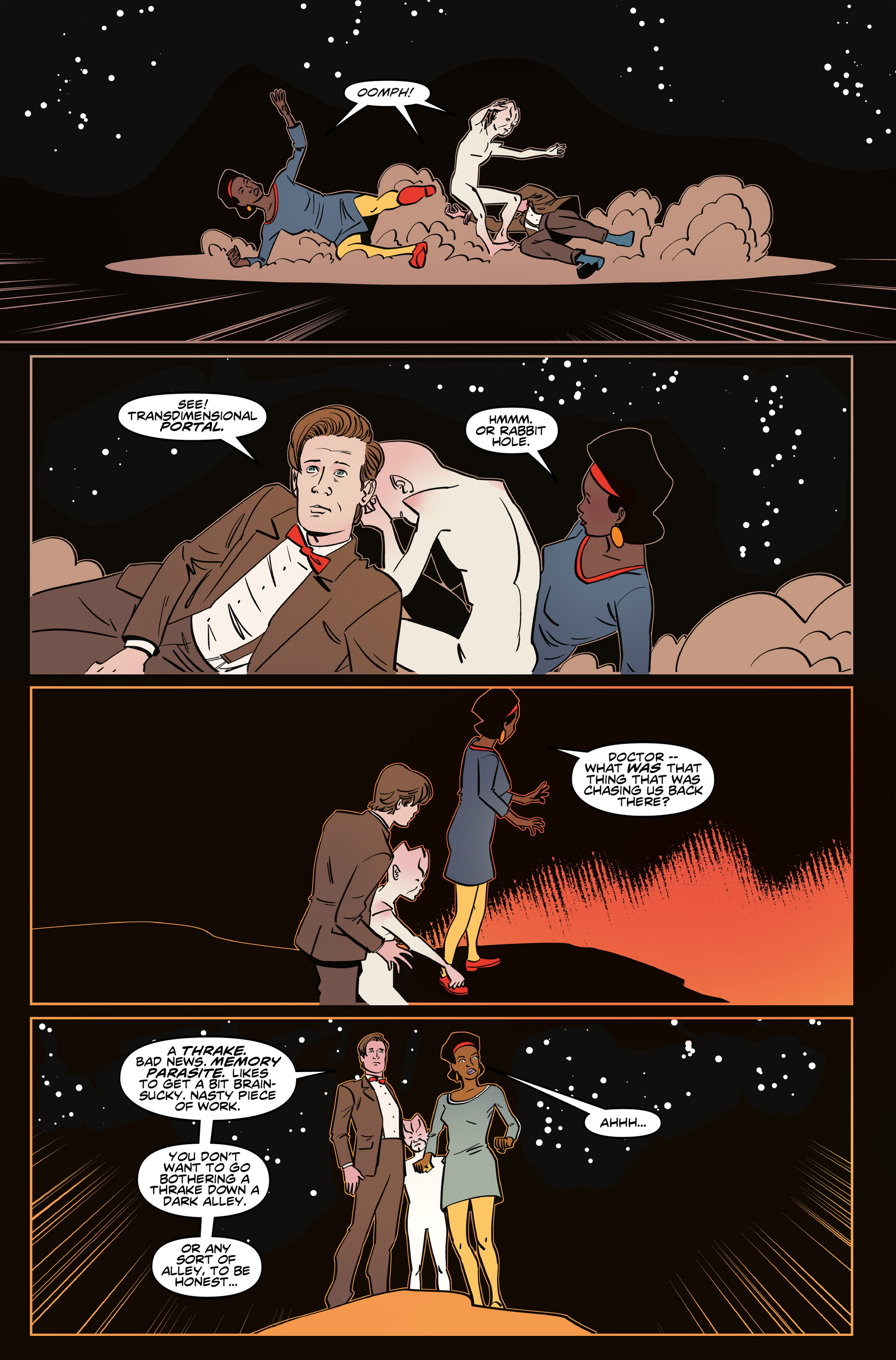 Read online Doctor Who: The Eleventh Doctor Year Three comic -  Issue #6 - 18