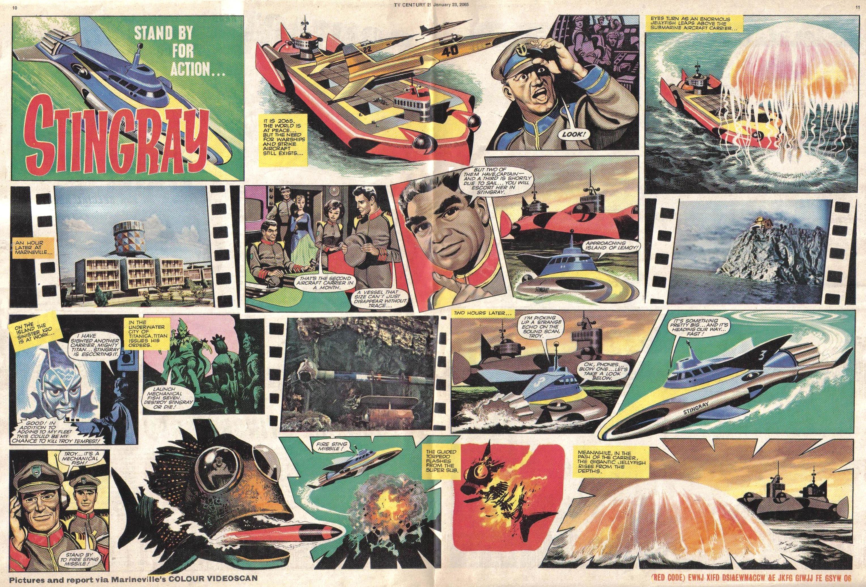 Read online TV Century 21 (TV 21) comic -  Issue #1 - 10