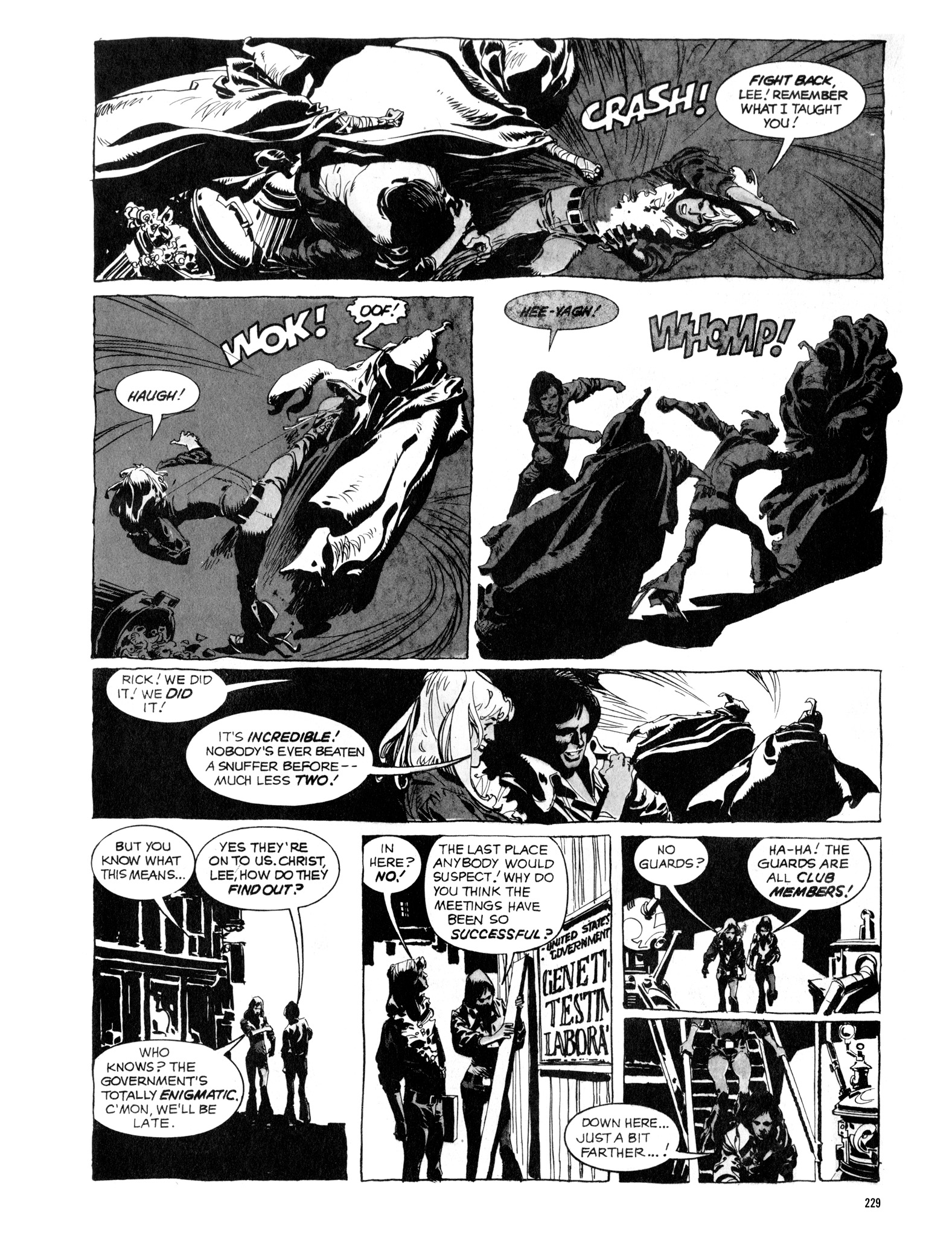 Read online Eerie Archives comic -  Issue # TPB 16 - 230