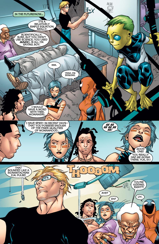 Read online Alpha Flight (2004) comic -  Issue #9 - 20