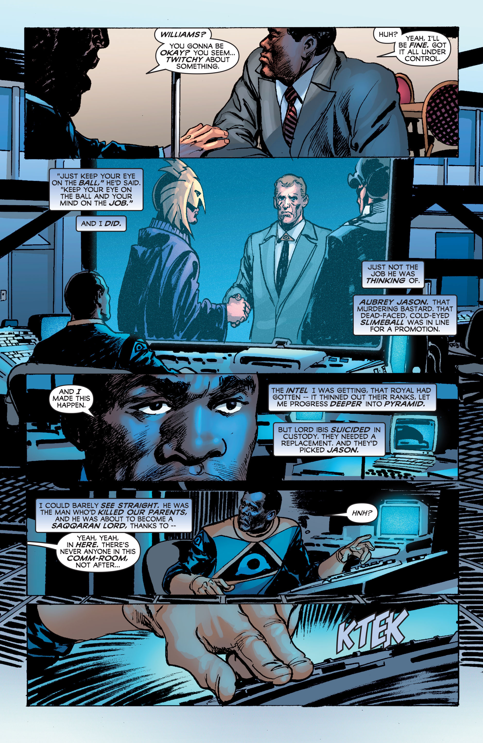 Read online Astro City: Dark Age/Book Three comic -  Issue #3 - 11
