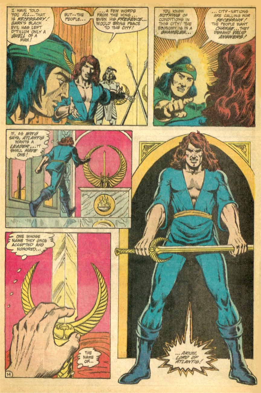 Read online Arion, Lord of Atlantis comic -  Issue #26 - 15
