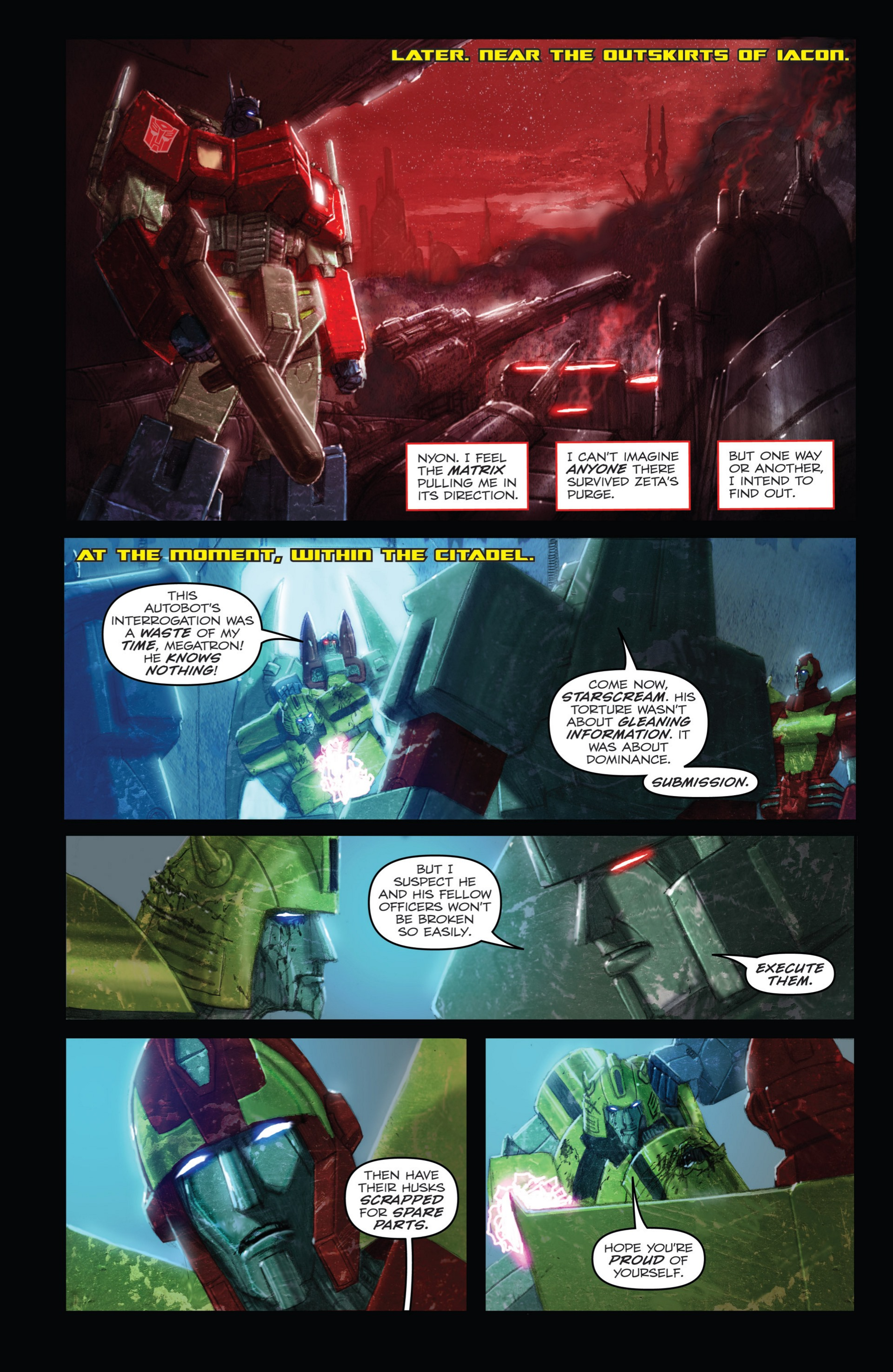 Read online Transformers: Autocracy comic -  Issue # Full - 90