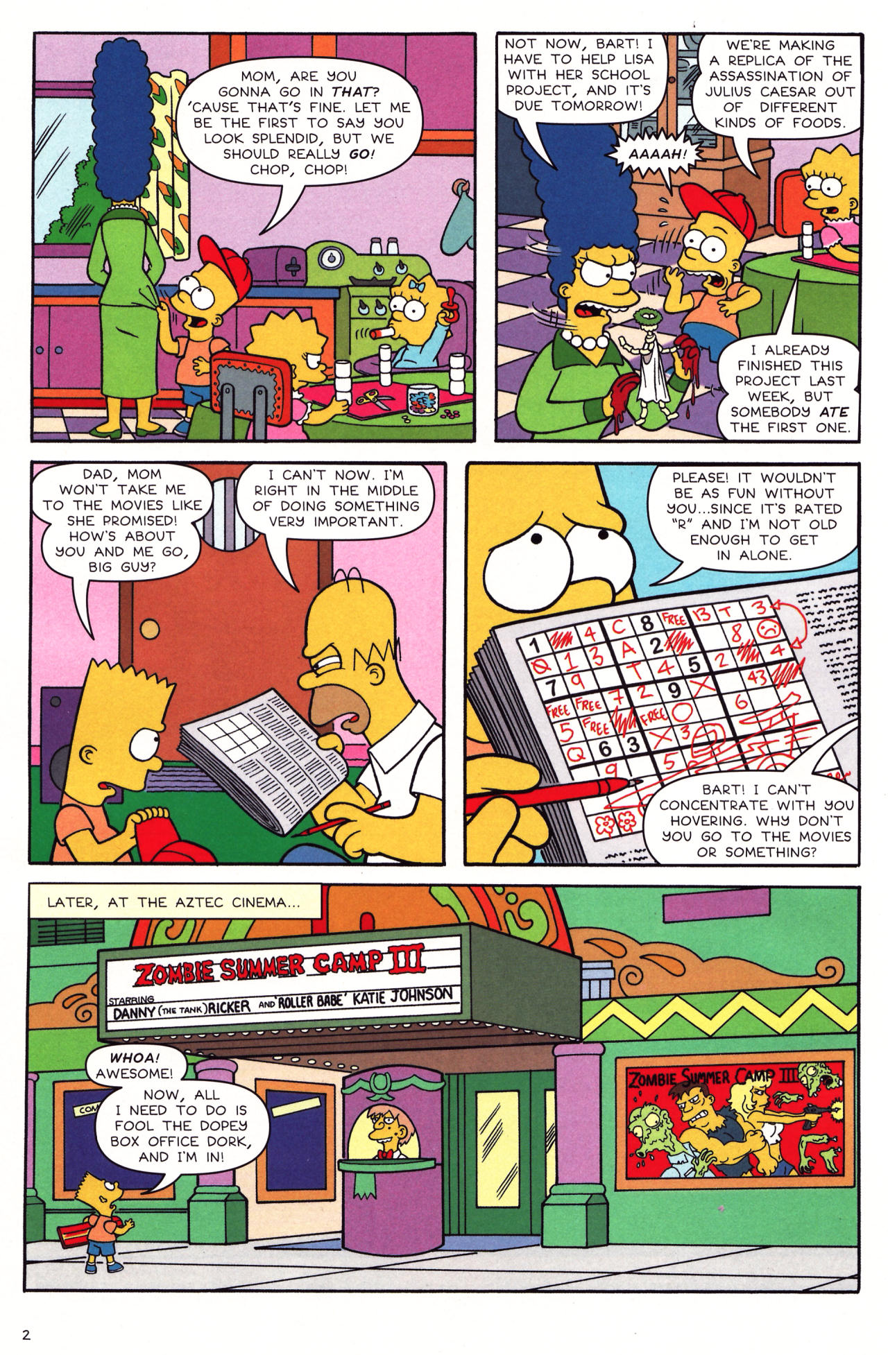 Read online Simpsons Comics Presents Bart Simpson comic -  Issue #39 - 3