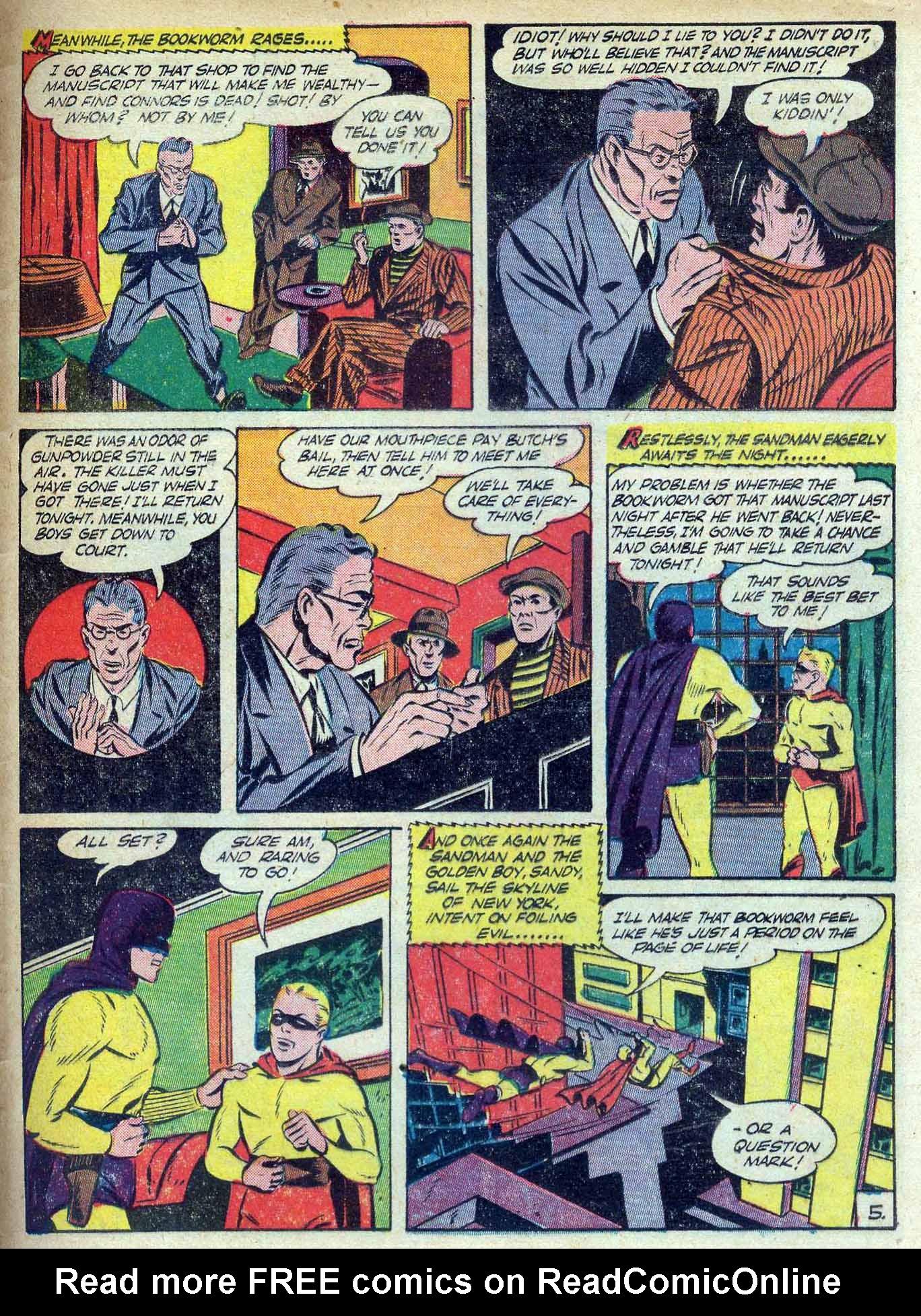 Read online Adventure Comics (1938) comic -  Issue #70 - 63