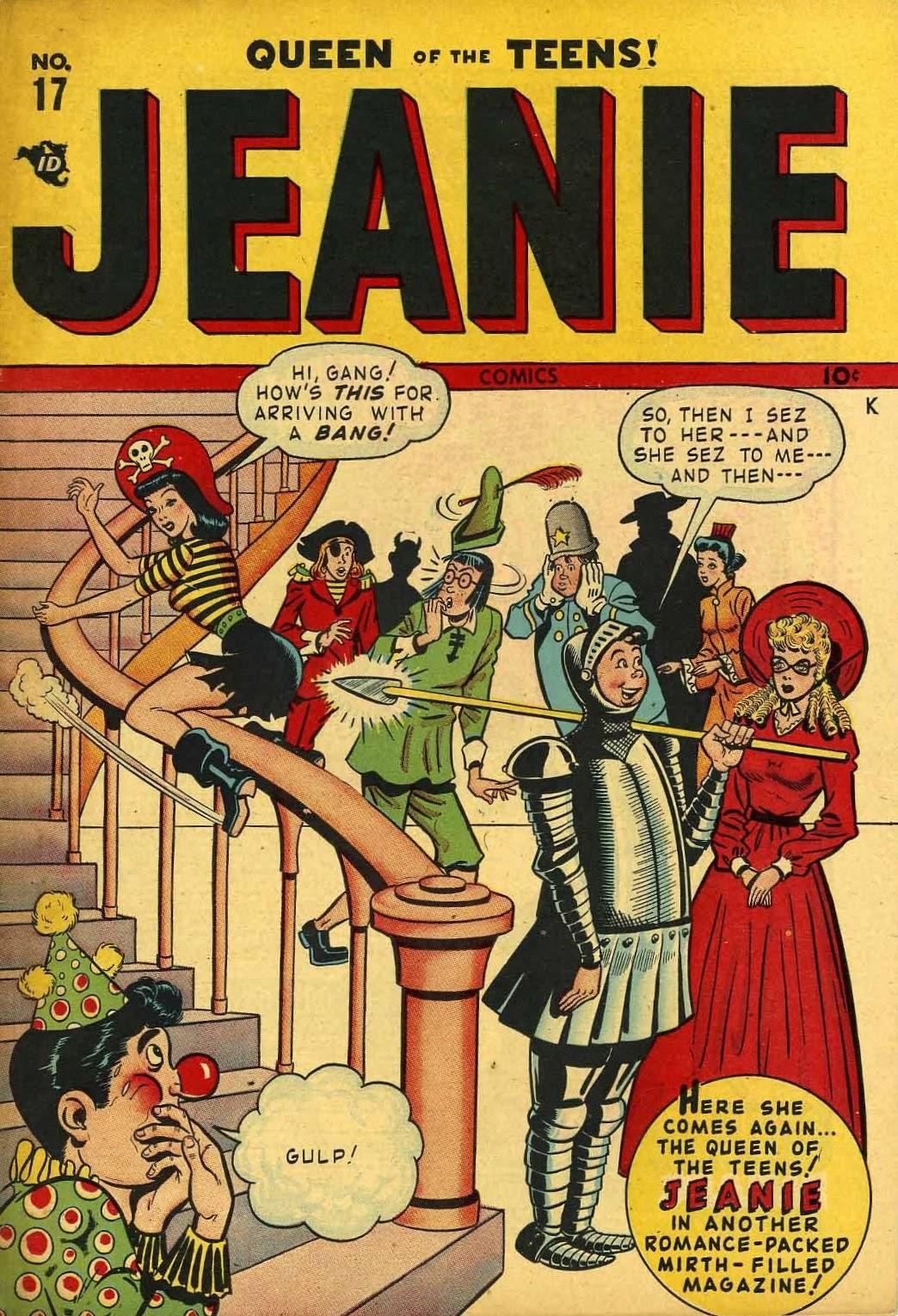 Jeanie Comics 17 Page 1