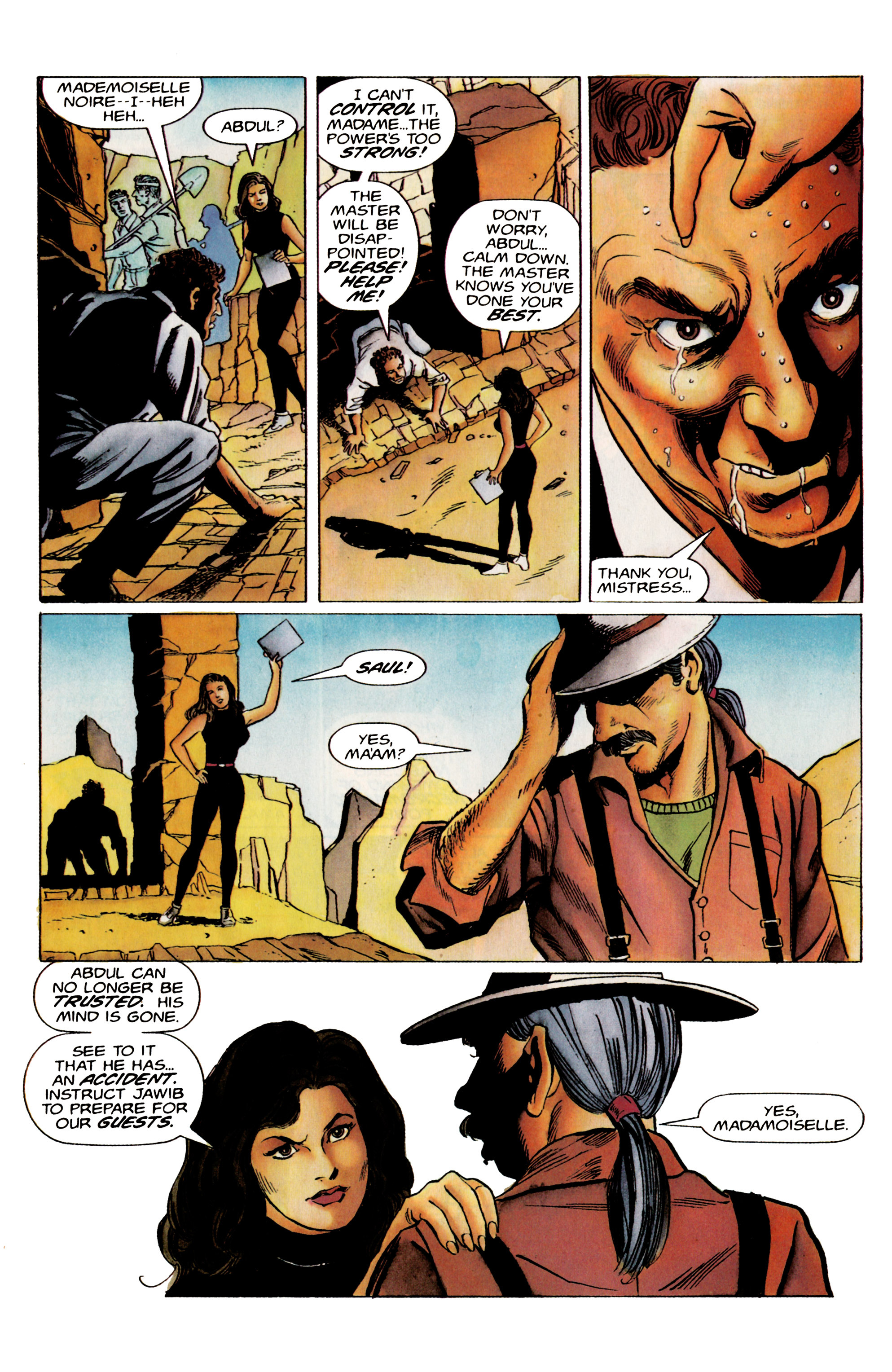 Read online Eternal Warrior (1992) comic -  Issue #19 - 11