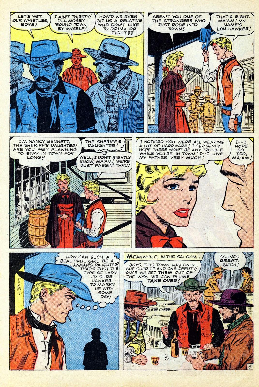 Gunsmoke Western issue 65 - Page 30