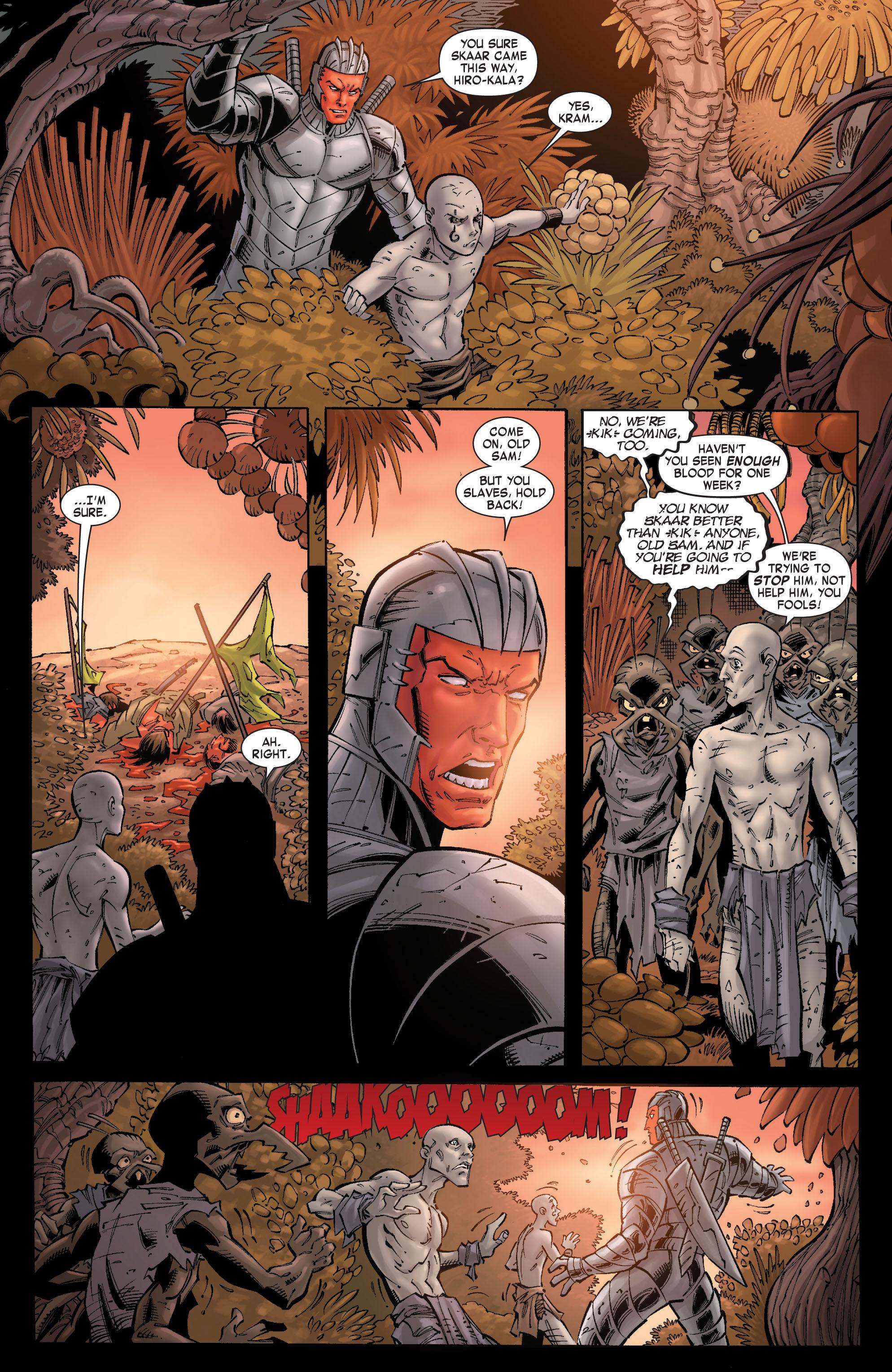 Read online Skaar: Son of Hulk comic -  Issue #9 - 3