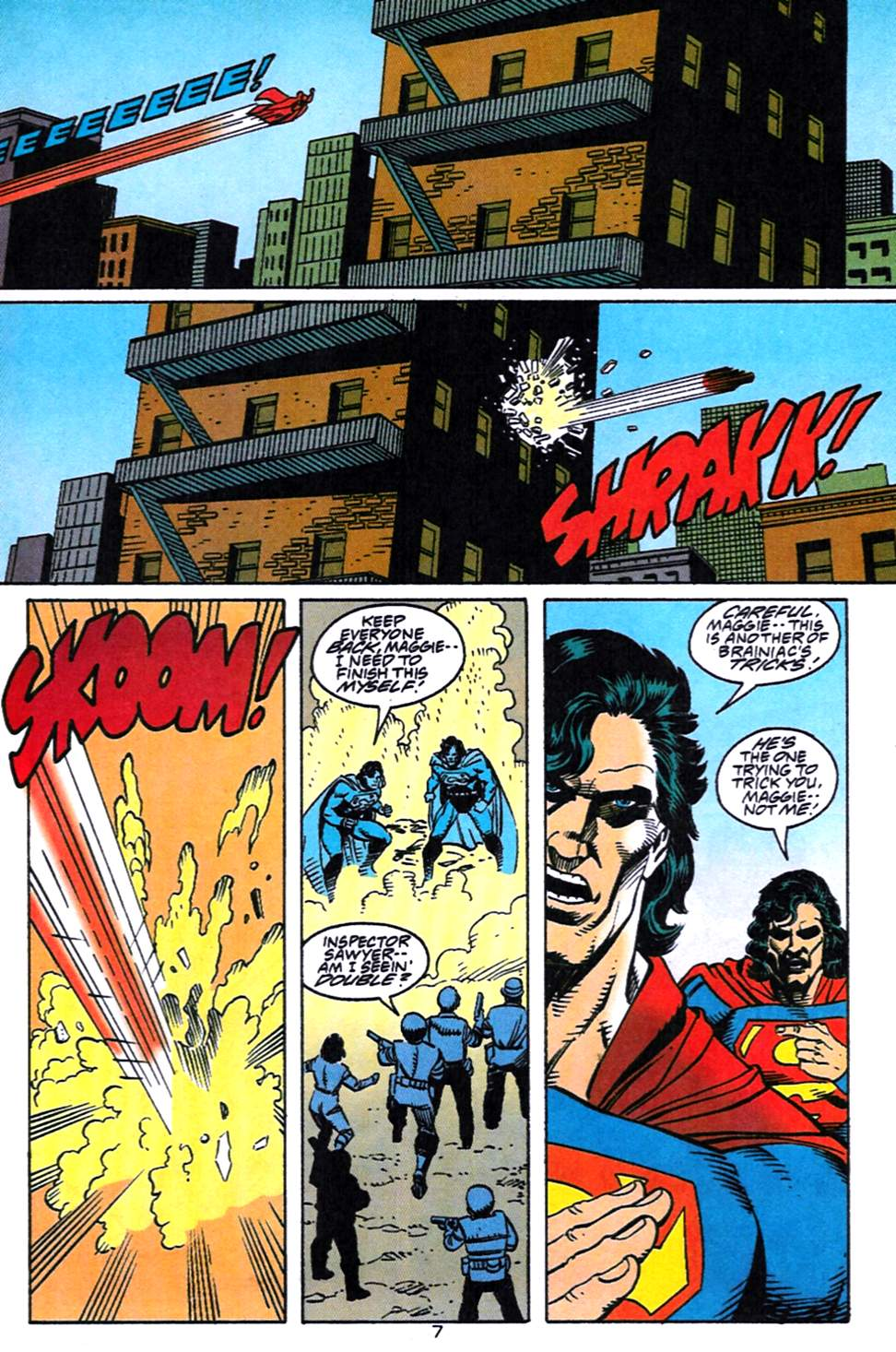 Read online Adventures of Superman (1987) comic -  Issue #519 - 8